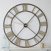 Belle Maison Large Iron Steeple Clock, 122cm