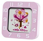 Hello Kitty Pink Rectangular Wall And Shelf Clock