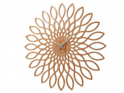 Karlsson Sunflower MDF Wood Finish Wall Clock