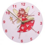Girl Clock,Kids Clock,Fairy Girl Clock,Pink Clock