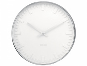 Karlsson Wall Clock White Face Station Clock