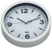Kela Paris 17161 Wall Clock 20 cm Plastic White