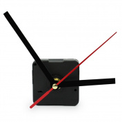 RHX Hot Black Quartz Wall Clock Movement Mechanism Hands DIY Repair Tool Parts Kit.