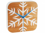 Karlsson Frosted Wood Veneer Wall Clock