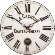 Roger Lascelles, French Clockmaker's dial Wall Clock