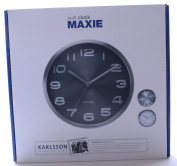 Karlsson Wall Clock Maxie, Black