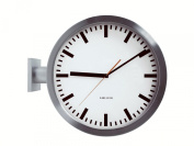 Karlsson Double Sided Aluminium Wall Clock