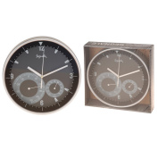 BBTradesales Wall Clock with Thermometer and Hygrometer