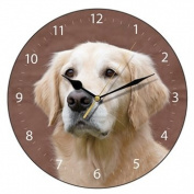 Golden Retriever Dog Wall Clock