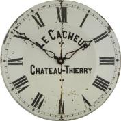 Roger Lascelles, Large Genuine Enamel Wall Clock
