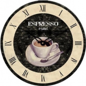 Technoline WT 1015 Espresso Paris Wall Clock