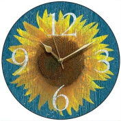 Sunflower Country Kitchen Wall Clock