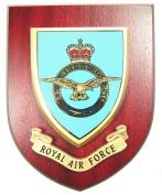 RAF Royal Air Force Wall / Mess Plaque
