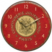 Shabby Chic Confiturerie Julien Country Kitchen Wall Clock