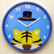 Childrens Bedroom Tiger Wall Clock