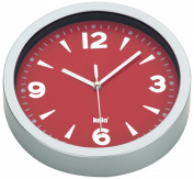 Kela Moscow 17159 Wall Clock 20 cm Plastic Red