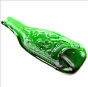Lucky Buddha recycled Chinese beer bottle dish