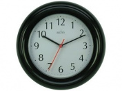 Acctim 21413 Wycombe Wall Clock Black