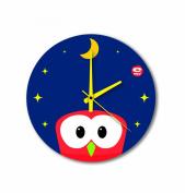 """E-my 54470452 Wall Clock with """"Carpediem Pisolo"""" Design"""