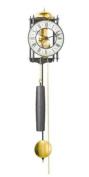 Hermle Pendulum Clocks 70974-000711 wall clock