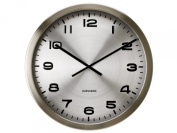 Karlsson Wall Clock Maxie Steel Polished Alu