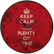 Keep Calm Round Wall Clock