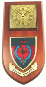 Welsh Guards Wall / Mess Clock