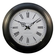 43cm Ribbed Antique Style Clock - French Gallery