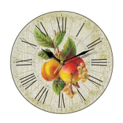 Apricots and Whitecurrants Wall Clock
