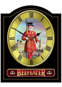 BEEFEATER Vintage English Pub Sign Wall Clock