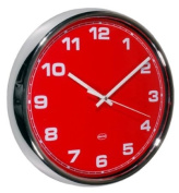 Cabanaz Wall Clock, Scarlet Red