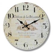 Chateau De La Brisonne Clock