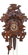 Cuckoo Clock 8 Leaves, 3 Birds, Nest
