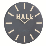 "Deep Resin ""Hall"" Wall Clock Colour"