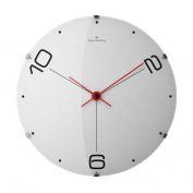 Domed Glass Wall Clock Size