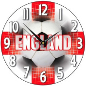 England Supporter Wall Clock