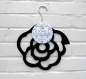 Scarf Holder - Black Rose Scarf Hanger - Perfect Mothers Day Gift!