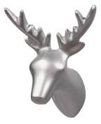 Capventure Dear Deer Coat Hook, Silver
