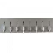 Leitmotiv Coat Rack Hook Light Grey with White Hooks