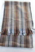 Luxuriously soft, handwoven alpaca scarfs handmade in Ecuador