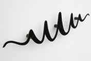 Scribble coat rack, black
