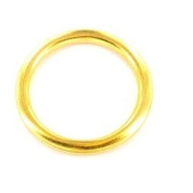 Brass Curtain Rings 25mm/1 inch x12