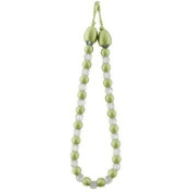Earle Beaded Curtain Tie Back Bead Lime Green