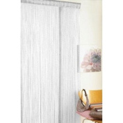Retro Tassel Door Curtain Fly Insect Bug Screen Glitter White String For Doorways