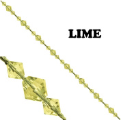 Beaded Gem Tieback Lime Sold Individually
