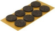 50 x 24mm Anti-scratch felt pads Furniture gliders on laminate, Tile or wooden floors