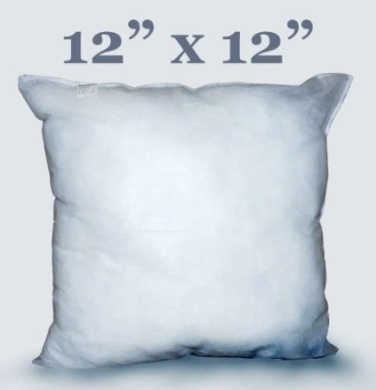 PACK OF 2 - 30cm x 30cm INCH CUSHION PADS/INSERTS/FILLERS