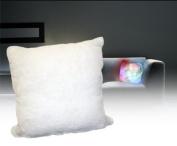 Thumbs Up UK Light Up LED Moonlight Cushion White