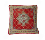 Marrakech Burgundy Cushion Cover 45x45cm