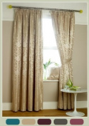 *SALE* PENCIL PLEATED ETON FULLY LINED CURTAINS *Cushion Covers available - Many Sizes & Colours*
